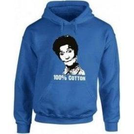 100% Dot Cotton (Eastenders) Hooded Sweatshirt