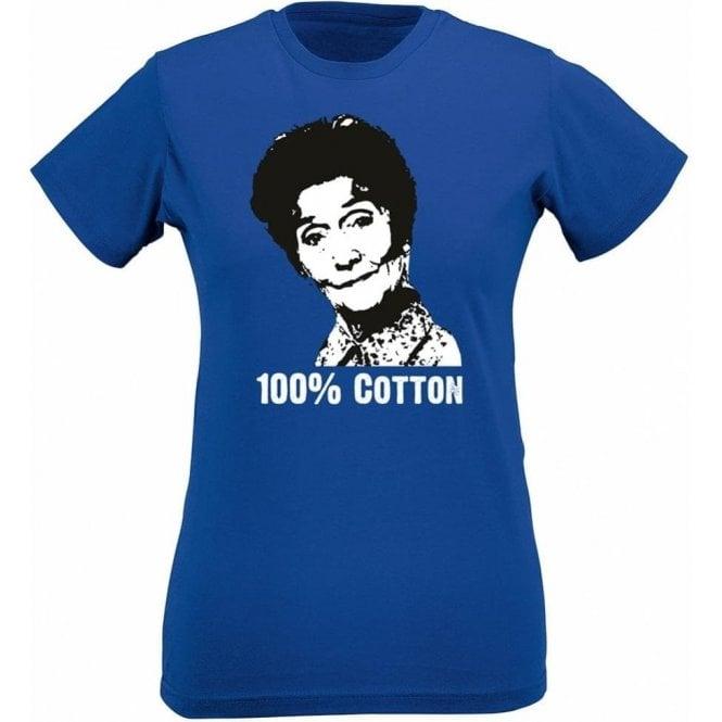 100% Cotton Womens Slim Fit T-Shirt