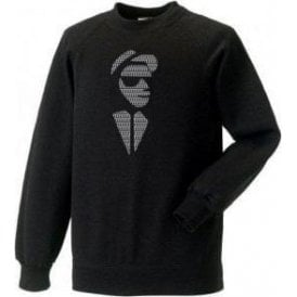 2 Tone Face Sweatshirt