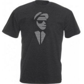 2 Tone Face Vintage Wash T-Shirt