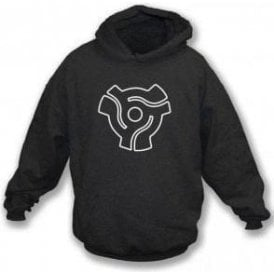 45 Vinyl Insert Hooded Sweatshirt