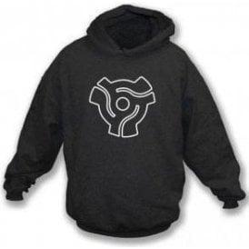 45 Vinyl Insert Hooded Sweatshirt