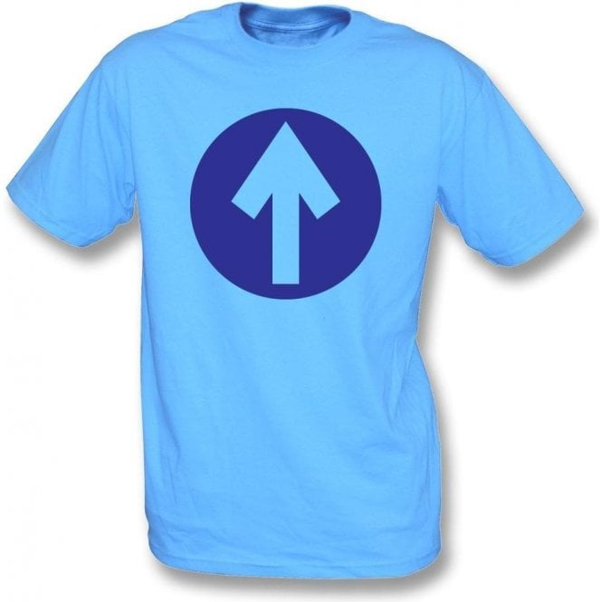 60's Mod Blue Arrow (As Worn By John Entwistle, The Who) T-Shirt