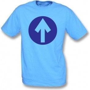 60's Mod Blue Arrow (As Worn By John Entwistle, The Who) T-Shirt