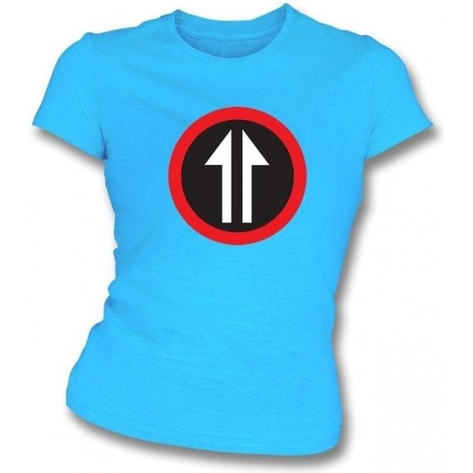 60's Mod Split Arrow (As Worn By Roger Daltrey, The Who) Womens Slim Fit T-Shirt