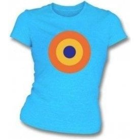 60's Mod Target As Worn By Keith Moon Of The Who Women's Slimfit T-shirt