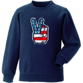 70's USA Fingers Kids Sweatshirt
