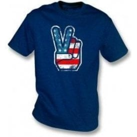 70's USA Fingers Kids T-Shirt
