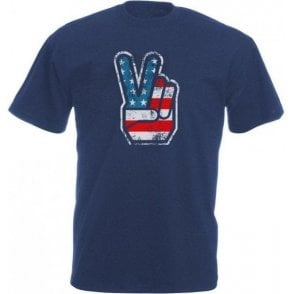 70's USA Fingers Vintage Wash T-Shirt