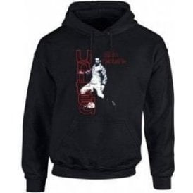 90's Eric Cantona Hooded Sweatshirt