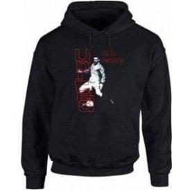 90's Eric Cantona (As Worn By Morrissey) Hooded Sweatshirt