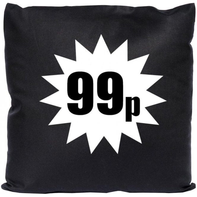 99p (As Worn By Damon Albarn, Blur/Gorillaz) Cushion