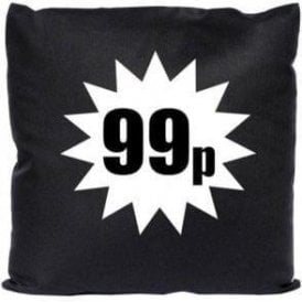 99p (As Worn By Damon Albarn, Blur/Gorillaz) Cushion