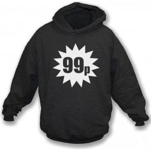 99p (As Worn By Damon Albarn, Blur/Gorillaz) Hooded Sweatshirt