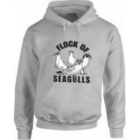 A Flock Of Seagulls Hooded Sweatshirt