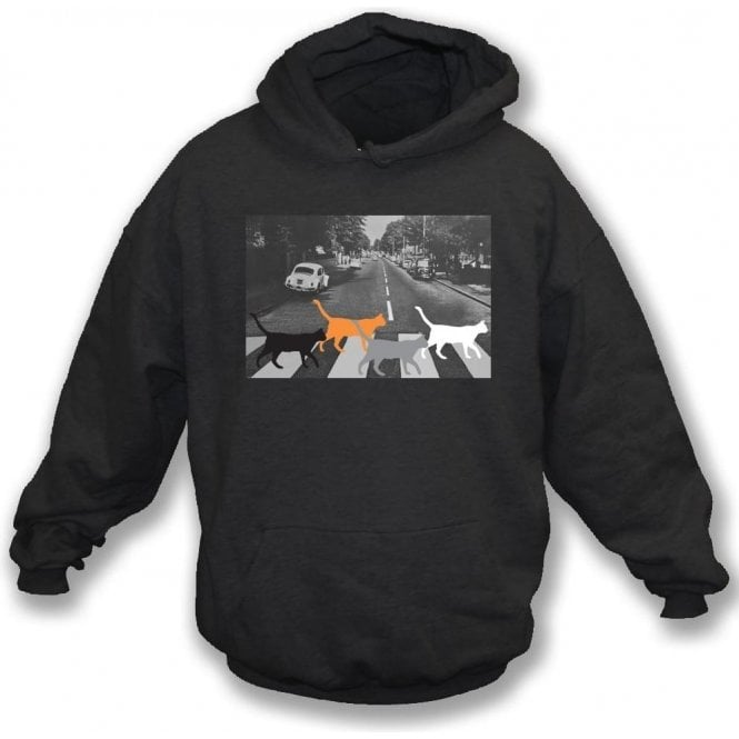 Abbey Road Cats Hooded Sweatshirt