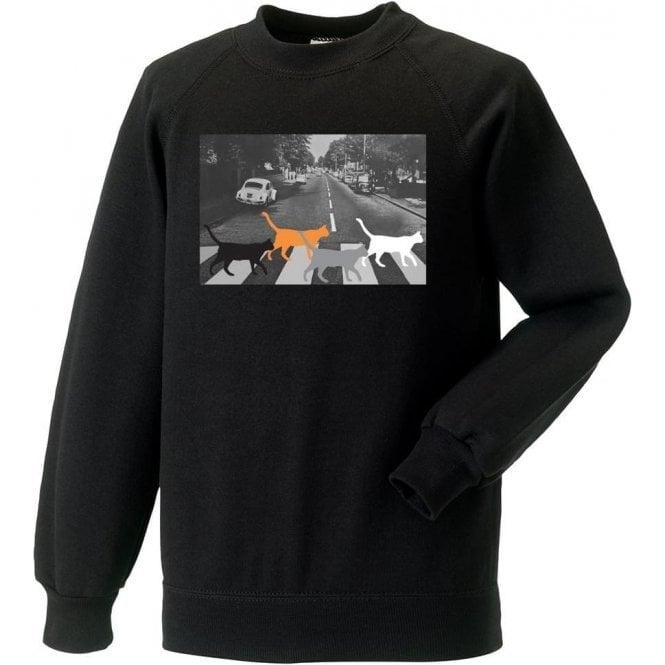 Abbey Road Cats Sweatshirt