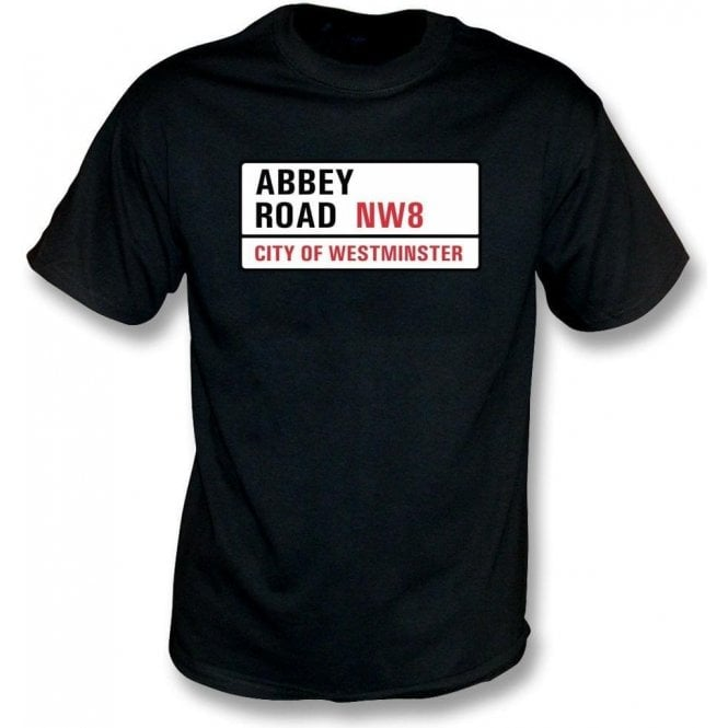 Abbey Road Road Sign Kids T-Shirt