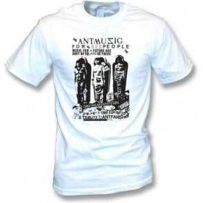 Adam and The Ants 'Ant Music' Poster T-Shirt