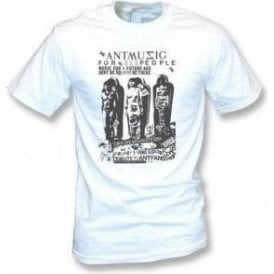 Adam and The Ants 'Ant Music' Poster Vintage Wash T-Shirt