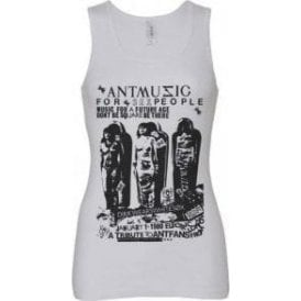 Adam And The Ants 'Ant Music' Poster Women's Baby Rib Tank Top
