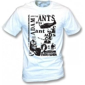 Adam And The Ants Punk Poster T-shirt