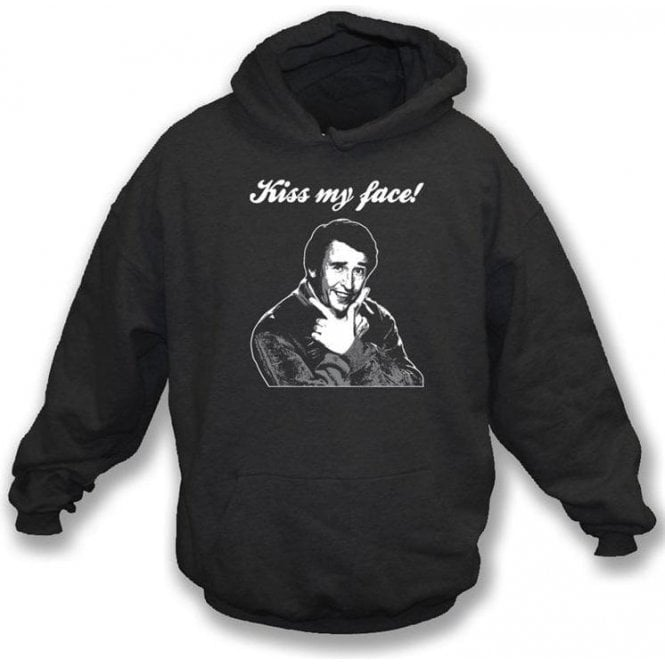 Alan Partridge Kiss My Face Hooded Sweatshirt
