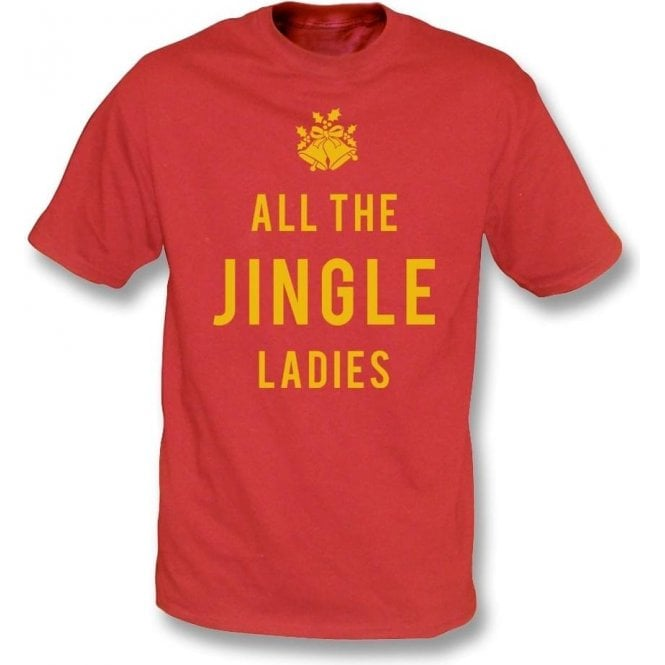 All The Jingle Ladies Kids T-Shirt