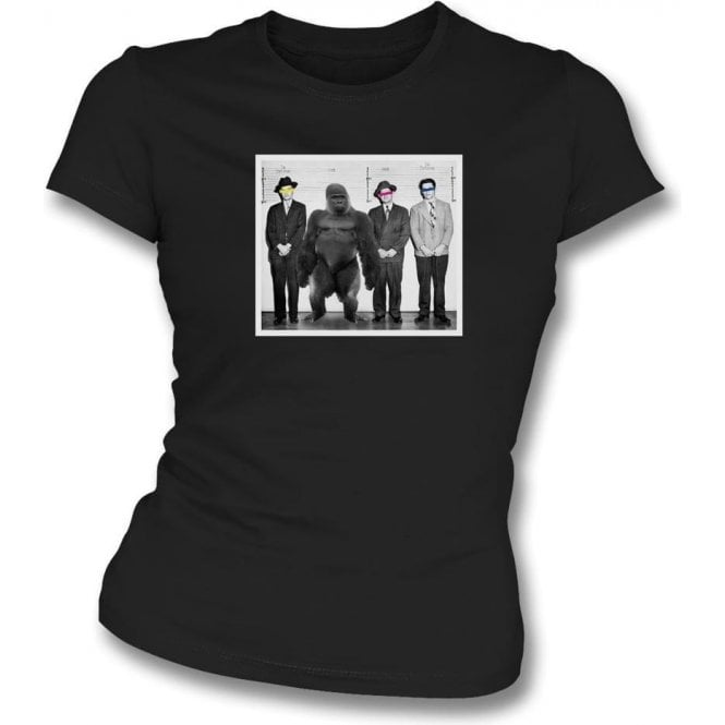 Alpha Male Line Up Womens Slim Fit T-Shirt