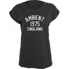 Ambient 1975 England Womens Extended Shoulder T-Shirt