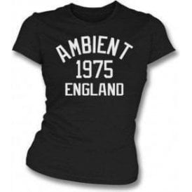 Ambient 1975 England Womens Slim Fit T-Shirt