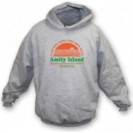 Amity Island (Inspired by JAWS) Hooded Sweatshirt