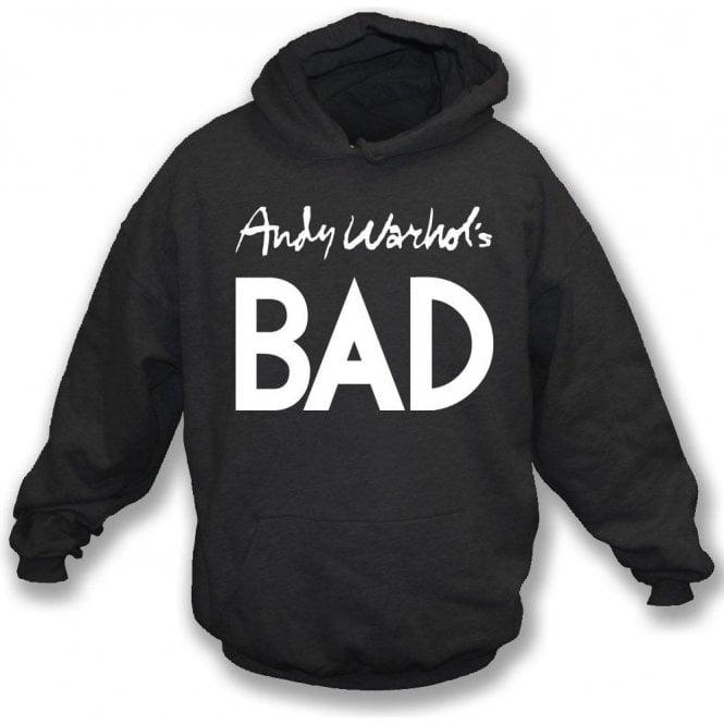 Andy Warhol's Bad (As Worn By Debbie Harry, Blondie) Hooded Sweatshirt