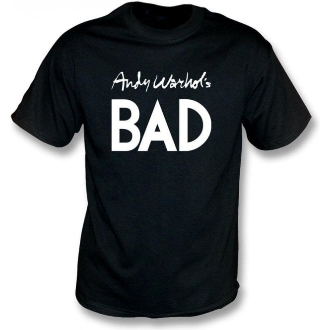 Andy Warhol's Bad (As Worn By Debbie Harry, Blondie) T-Shirt