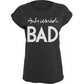 Andy Warhol's Bad (As Worn By Debbie Harry, Blondie) Women's Extended Shoulder T-Shirt