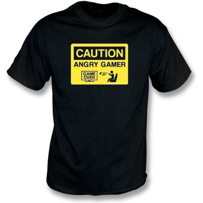 Angry Gamer Kids T-Shirt