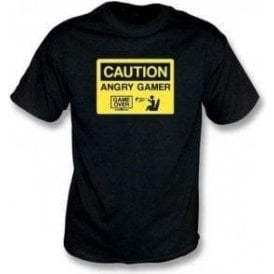 Angry Gamer Kids T-Shirt