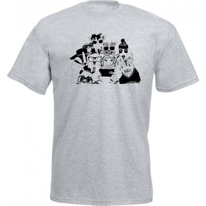 Animal Selfie Kids T-Shirt