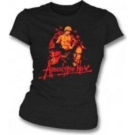 Apocalypse Now Collage Womens Slim-Fit T-shirt