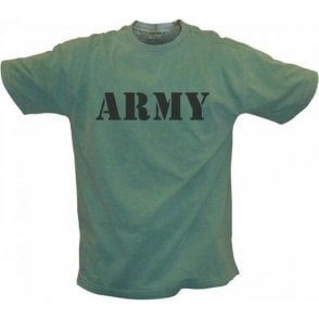 Army Vintage Wash T-Shirt