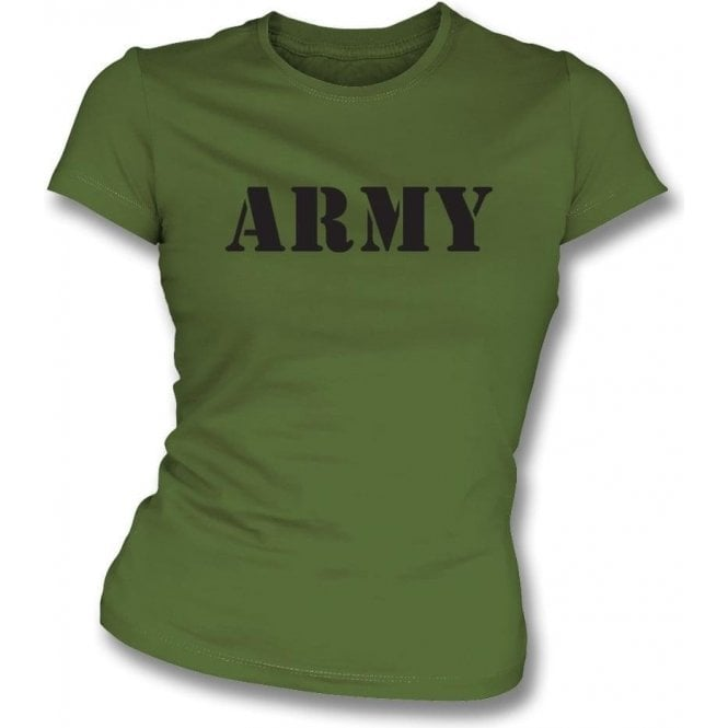 Army Womens Slim Fit T-Shirt
