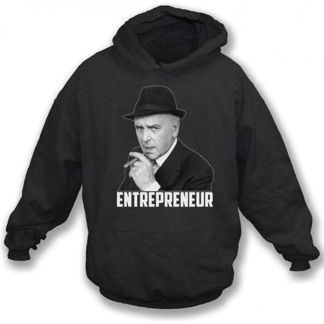 Arthur Daley - Entrepreneur (Inspired by Minder) Hooded Sweatshirt