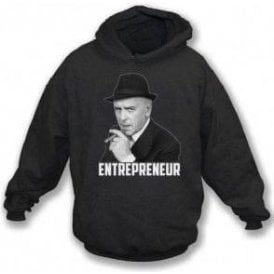 Arthur Daley - Entrepreneur (Inspired by Minder) Hooded Sweatshirt