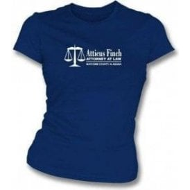 Atticus Finch (To Kill A Mockingbird) Womens Slim Fit T-Shirt