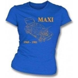 Austin Maxi Womens Slim-Fit T-shirt