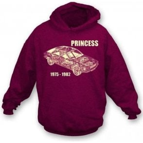 Austin Princess Hooded Sweatshirt