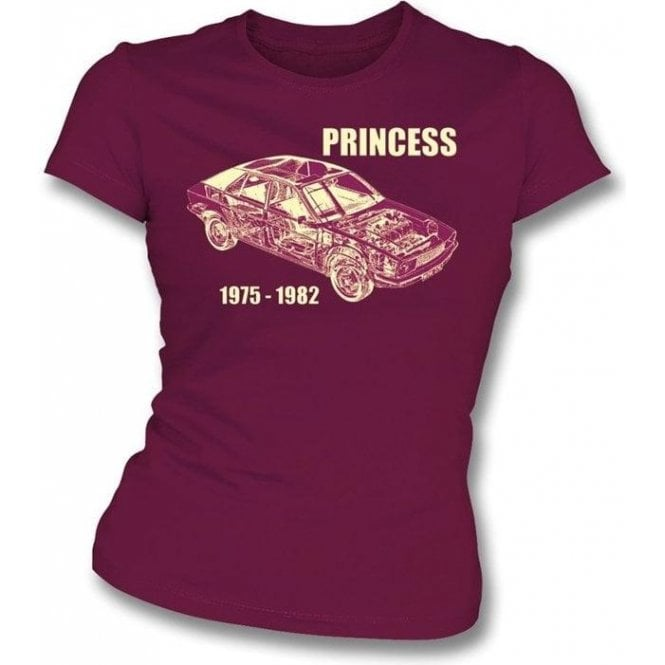 Austin Princess Womens Slim-Fit T-shirt