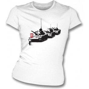 Banksy Golf Sale Womens Slimfit T-shirt