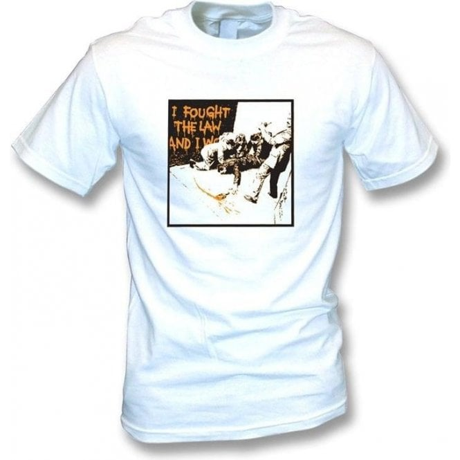 Banksy-I Fought The Law T-shirt