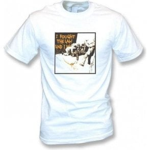 Banksy-I Fought The Law Vintage Wash T-shirt